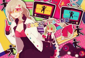 Rating: Safe Score: 62 Tags: gumi heiwa_(murasiho) mayu_(vocaloid) vocaloid User: FormX
