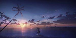 Rating: Safe Score: 42 Tags: kijineko original scenic sunset User: mattiasc02