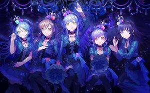 Rating: Safe Score: 21 Tags: bang_dream! cropped crown goth-loli group hikawa_sayo imai_lisa lolita_fashion long_hair minato_yukina shirokane_rinko thighhighs twintails udagawa_ako user_shinra User: Dreista