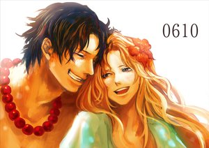 Rating: Safe Score: 68 Tags: blonde_hair flowers one_piece portgas_d_ace portgas_d_rouge tsuyomaru User: FormX