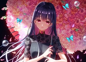 Rating: Safe Score: 27 Tags: butterfly close flowers ktmzlsy720 original umbrella waifu2x User: BattlequeenYume