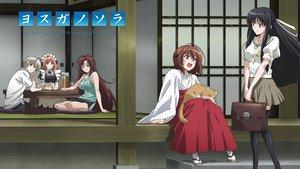 Rating: Safe Score: 57 Tags: amatsume_akira ifukube_yahiro kasugano_haruka maid migiwa_kazuha nogisaka_motoka yosuga_no_sora User: meccrain