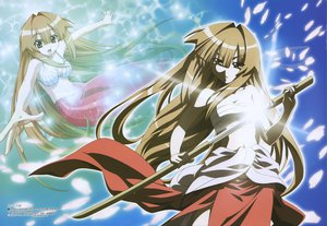 Rating: Safe Score: 10 Tags: mermaid seto_no_hanayome seto_san sword weapon User: Oyashiro-sama