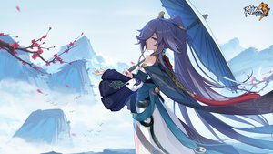 Rating: Safe Score: 39 Tags: animal aqua_eyes bird blue_hair fu_hua honkai_impact japanese_clothes logo long_hair tagme_(artist) umbrella User: Nepcoheart
