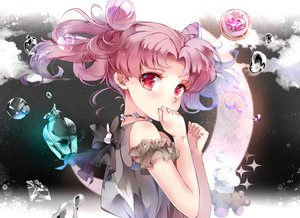 Rating: Safe Score: 66 Tags: chibiusa moon pink_hair red_eyes sailor_moon tukino_(panna) twintails User: BattlequeenYume