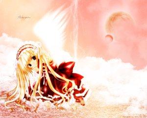Rating: Safe Score: 19 Tags: angel_dust nanase_aoi wings User: Oyashiro-sama