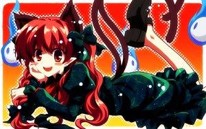 Rating: Safe Score: 64 Tags: animal_ears catgirl kaenbyou_rin pointed_ears touhou yuuki_tatsuya User: RyuZU