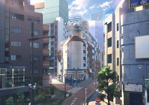 Rating: Safe Score: 35 Tags: building city original scenic yukimachi_(yuki_no_city) User: FormX