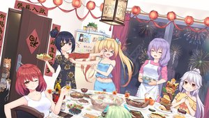 Rating: Safe Score: 40 Tags: animal_ears apron black_hair blonde_hair brown_eyes brown_hair building chibi chinese_clothes chinese_dress city drink eyepatch fireworks food gloves group long_hair night orange_hair original parody ponytail pop_team_epic purple_eyes purple_hair red_eyes red_hair short_hair shorts tagme_(artist) twintails white_hair User: luckyluna