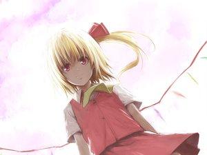 Rating: Safe Score: 44 Tags: blonde_hair flandre_scarlet lefthand pink_eyes ponytail touhou vampire User: HawthorneKitty