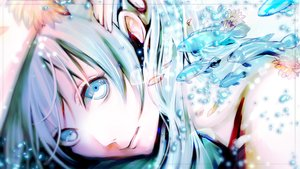 Rating: Safe Score: 99 Tags: 024minami animal blue_eyes blue_hair bubbles close fish flowers hatsune_miku long_hair petals vocaloid User: FormX
