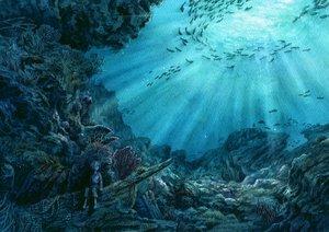 Rating: Safe Score: 93 Tags: all_male animal esorano fish male original scenic underwater water User: Freenight
