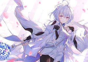Rating: Safe Score: 61 Tags: dress fate/grand_order fate_(series) kyaroru merlin_(fate/prototype) staff User: BattlequeenYume