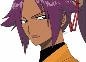 Rating: Safe Score: 9 Tags: bleach shihouin_yoruichi white User: 秀悟