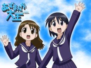 Rating: Safe Score: 6 Tags: azumanga_daioh kurosawa_minamo tanizaki_yukari User: Oyashiro-sama
