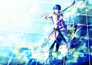Rating: Safe Score: 38 Tags: kaito male umu_(um) vocaloid User: FormX