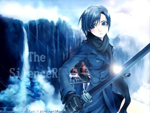 Rating: Safe Score: 45 Tags: blue katana sword weapon User: Oyashiro-sama