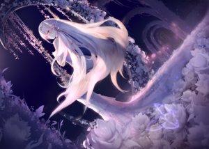 Rating: Safe Score: 70 Tags: blush futoshi_ame long_hair original purple_eyes white_hair User: BattlequeenYume