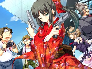 Rating: Safe Score: 44 Tags: game_cg gun sekisaba weapon User: Maboroshi