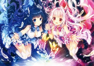 Rating: Safe Score: 156 Tags: 2girls original riichu scan User: mattiasc02