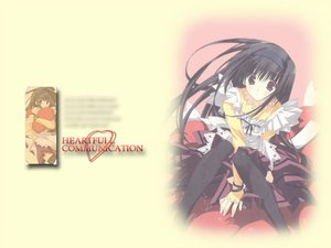 Rating: Safe Score: 9 Tags: black_hair long_hair maid mitsumi_misato tagme User: Oyashiro-sama