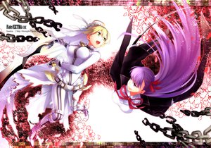 Rating: Safe Score: 59 Tags: chain fate/extra fumiko_(throughx2) purple_hair saber saber_bride tagme User: opai