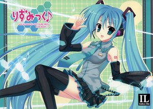 Rating: Safe Score: 19 Tags: hatsune_miku mitha thighhighs twintails vocaloid User: 秀悟