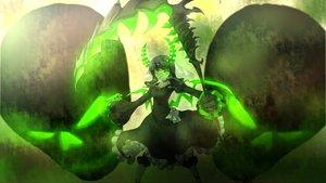 Rating: Safe Score: 137 Tags: black black_rock_shooter dress green_eyes horns scythe takanashi_yomi weapon User: Black_Rock_Shooter