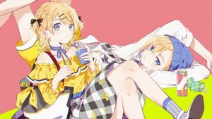 Rating: Safe Score: 39 Tags: kagamine_len kagamine_rin kanose male vocaloid User: FormX