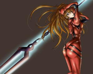 Rating: Safe Score: 58 Tags: bodysuit jpeg_artifacts neon_genesis_evangelion soryu_asuka_langley User: Anime_man
