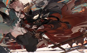 Rating: Safe Score: 78 Tags: 2girls fate/grand_order fate_(series) kawacy nobunaga_oda_(fate) okita_souji_(fate) User: luckyluna