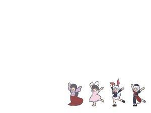Rating: Safe Score: 64 Tags: animated bunnygirl group houraisan_kaguya inaba_tewi reisen_udongein_inaba tagme_(artist) touhou white yagokoro_eirin User: 秀悟