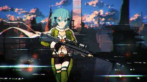 Rating: Safe Score: 187 Tags: gun gun_gale_online jumpei99 shinon_(sao) sword_art_online weapon User: FormX