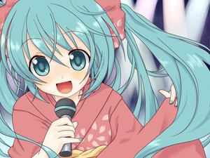 Rating: Safe Score: 24 Tags: hatsune_miku japanese_clothes vocaloid yukata User: HawthorneKitty