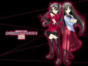 Rating: Safe Score: 35 Tags: crossover fate_(series) fate/stay_night shingetsutan_tsukihime tohno_akiha tohsaka_rin type-moon User: Oyashiro-sama