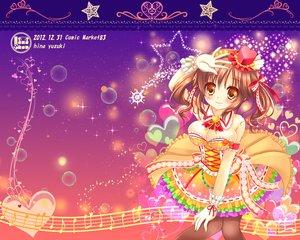 Rating: Safe Score: 26 Tags: brown_hair idolmaster idolmaster_cinderella_girls totoki_airi twintails yuziki_hina User: Wiresetc