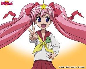 Rating: Safe Score: 6 Tags: akamatsu_ken onigawara_mao rikujou_bouei-tai_mao-chan User: Oyashiro-sama