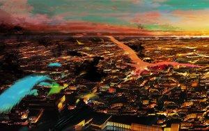 Rating: Safe Score: 81 Tags: 108 animal bird city clouds original scenic sky sunset User: STORM