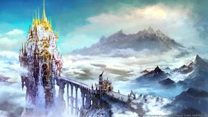 Rating: Safe Score: 134 Tags: clouds final_fantasy final_fantasy_xiv landscape nobody scenic sky tagme_(artist) User: Wiresetc