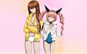 Rating: Safe Score: 52 Tags: faris_nyannyan makise_kurisu steins;gate User: meccrain