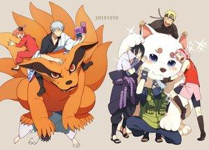 Rating: Safe Score: 68 Tags: animal crossover dog fox gintama group haruno_sakura hatake_kakashi hug kagura_(gintama) kurama_(naruto) male naruto naruto_shippuden oba-min sadaharu sakata_gintoki shimura_shinpachi uchiha_sasuke uzumaki_naruto User: FormX