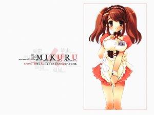 Rating: Safe Score: 41 Tags: asahina_mikuru itou_noiji maid suzumiya_haruhi_no_yuutsu waitress white User: Oyashiro-sama