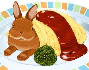 Rating: Safe Score: 14 Tags: animal cropped food lilac_(pfeasy) nobody original rabbit waifu2x User: otaku_emmy