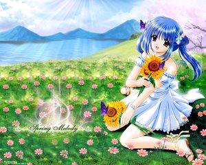 Rating: Safe Score: 5 Tags: butterfly flowers nishimata_aoi spring tagme User: Oyashiro-sama