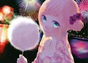Rating: Safe Score: 48 Tags: fireworks just_be_friends_(vocaloid) megurine_luka vocaloid yunomi User: Destroying