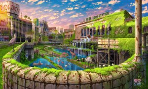 Rating: Safe Score: 45 Tags: animal bear bird building city elephant grass lion original panda ruins scenic sunset tokyogenso water watermark User: FormX