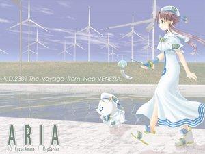Rating: Safe Score: 9 Tags: aria aria_pokoteng mizunashi_akari windmill User: Oyashiro-sama