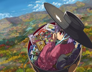 Rating: Safe Score: 14 Tags: autumn candy chocolate close clouds forest japanese_clothes kimono landscape purple_hair red_eyes scenic shope short_hair sky sukuna_shinmyoumaru touhou tree User: otaku_emmy
