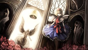 Rating: Safe Score: 28 Tags: alice_margatroid blonde_hair dress flowers ribbons short_hair touhou User: w7382001