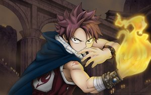 Rating: Safe Score: 35 Tags: all_male black_eyes fairy_tail fire male mashima_hiro natsu_dragneel pink_hair scarf short_hair tattoo User: RyuZU